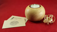 Tealight candle holder (oak) - Woodsmithery - WoodsmitheryShop