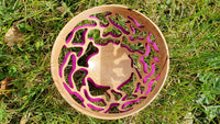 Carved bowl (lime) - WoodsmitheryShop