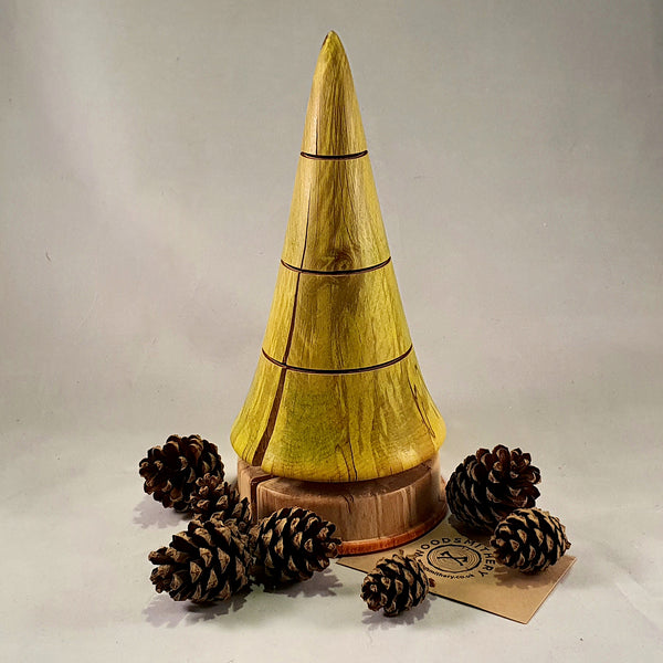 Christmas tree (spalted beech) - Woodsmithery - WoodsmitheryShop