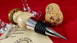Bottle stopper (sycamore/mango) - Woodsmithery - WoodsmitheryShop