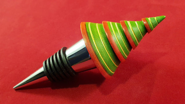 Bottle stopper (sycamore) - Woodsmithery - WoodsmitheryShop