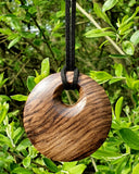 Pendant necklace (walnut) - WoodsmitheryShop