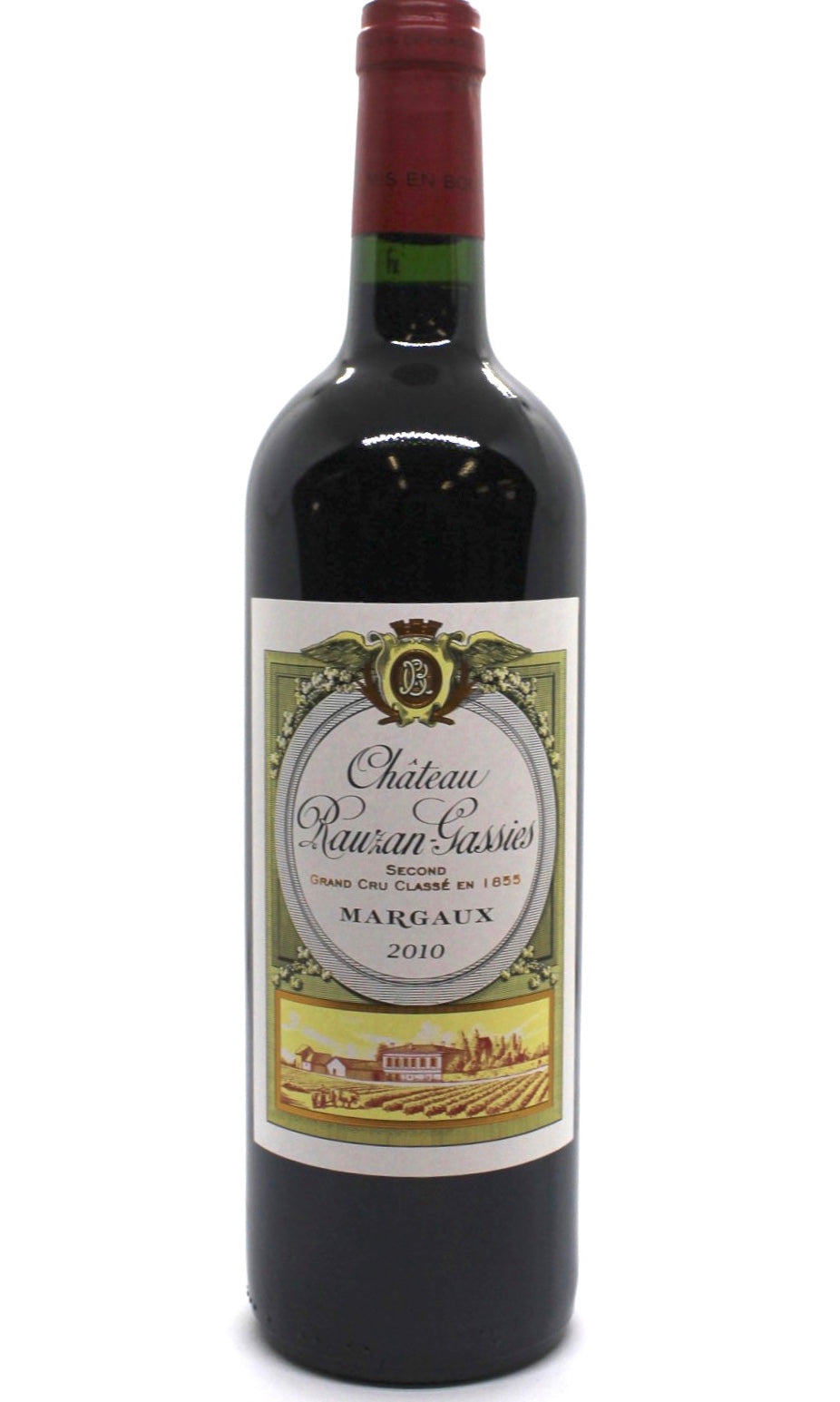 2010 Château Rauzan - Gassies Classified 2nd growth - Margaux