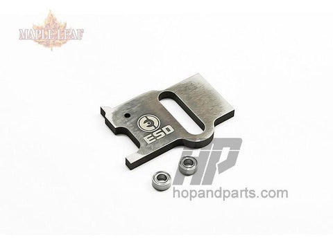 Maple Leaf (by ESD) steel sear for low pull weight and zero resistance