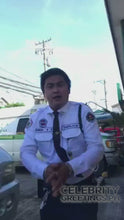 Load and play video in Gallery viewer, Ryniel Pineda - Dancing Security Guard