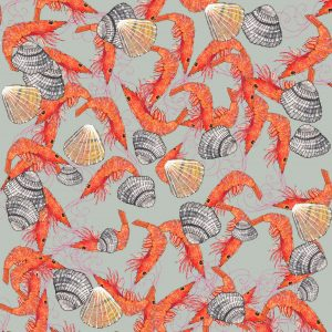 Tatty Co cards:  Shrimps and Shells