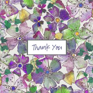 Tatty Co cards:  Thank You