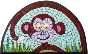 Mosaic picture by Martin Cheek 'A Cheeky Monkey'