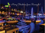 Christmas card Ramsgate Harbour Illuminations
