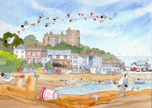 Original print by David Bailey : Broadstairs Seafront