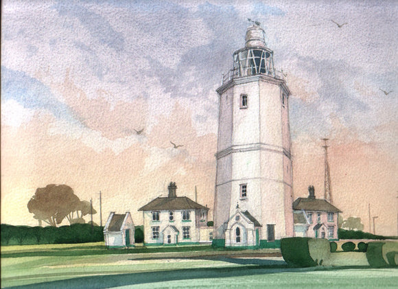 Original print by David Bailey : North Foreland Lighthouse