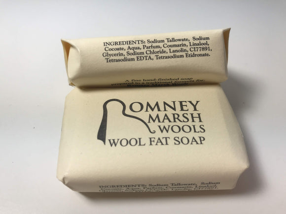 Beautifully natural woolfat soap by Romney Marsh
