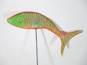 Freddo Verre decorative glass fish garden stakes - Nice Things Ramsgate