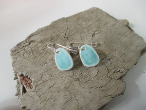 Katy Mai Coast Range green earrings