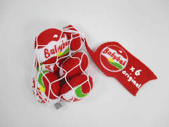 Babybel bag of cheeses, unique gift idea by Heart Felt - Nice Things Ramsgate