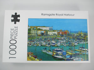 Jigsaw puzzle 'Ramsgate Harbour' 1000 pieces - Nice Things Ramsgate