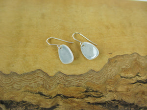 Grey porcelain earrings Katy Mai Coast Range