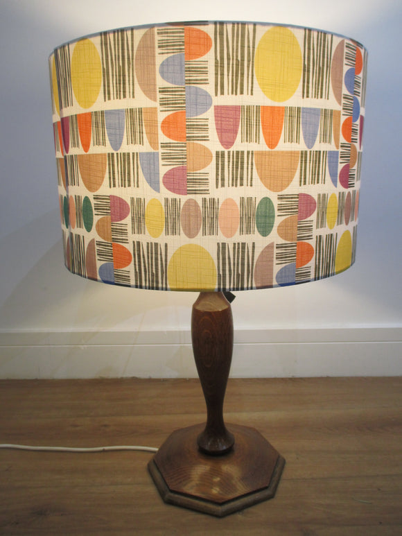 White 'New Dawn' pattern contemporary designer lampshade by Rosimorosi