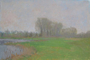 Oil painting by Suzanne Baker - Misty Morning - Nice Things Ramsgate