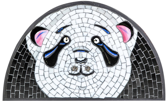 Mosaic picture by Martin Cheek 'A Pandemic Panda'