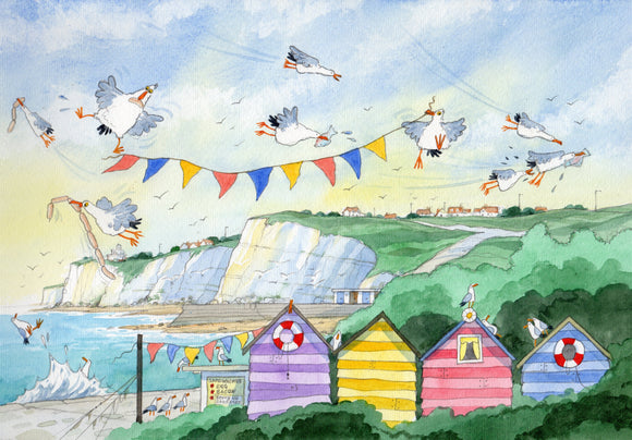 David Bailey: Seagulls and Flags - Nice Things Ramsgate