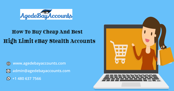 How To Buy Cheap And Best High Limit eBay Stealth Account