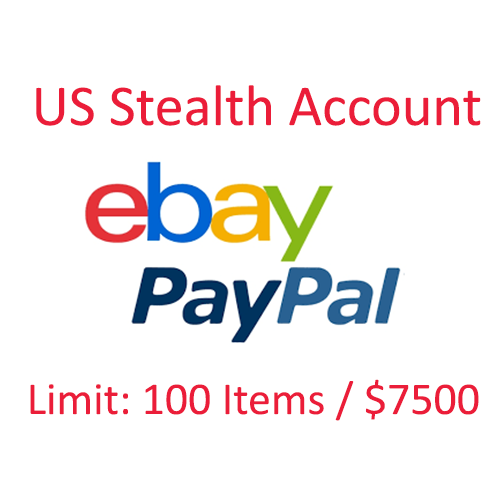 EBay Stealth Account 100 Items / $7500