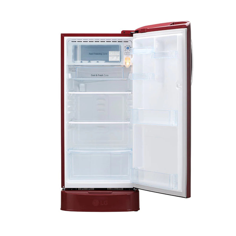 LG 190L GL-D201ARGY Single Door Refrigerator