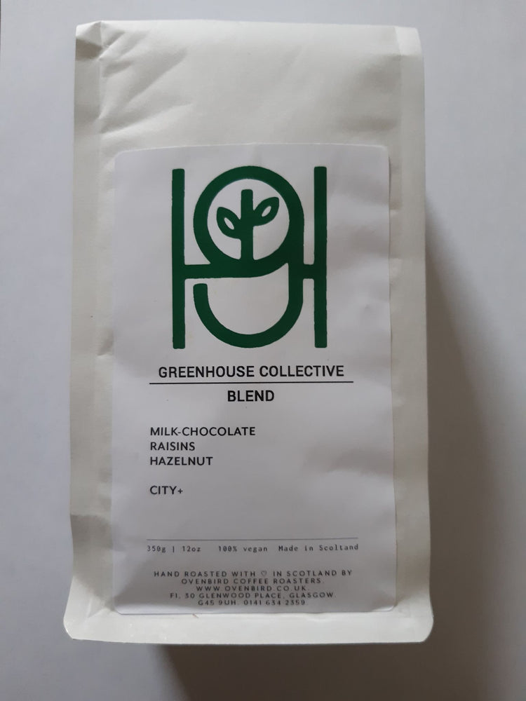 Greenhouse Blend Whole Beans (350g)