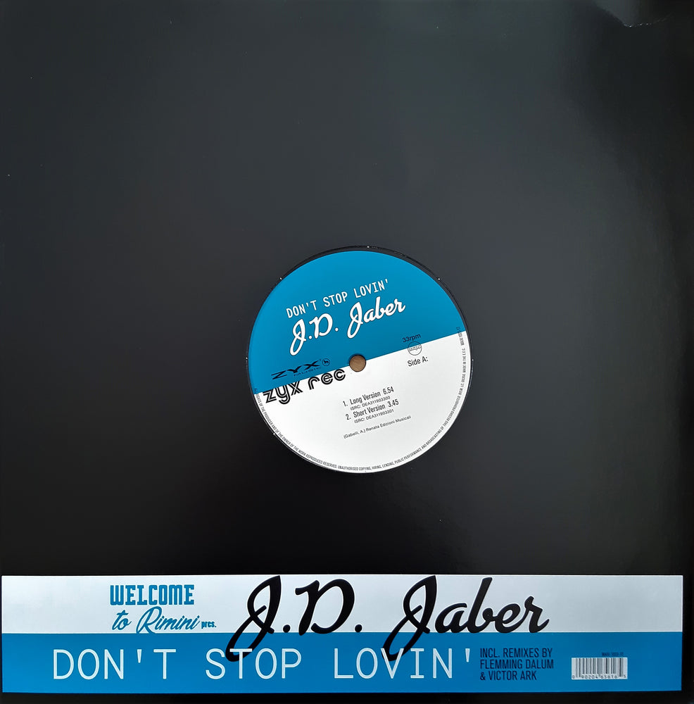 Load image into Gallery viewer, J.D. Jaber ‎– Don't Stop Lovin'