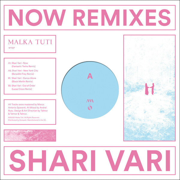 "Load image into Gallery viewer, Shari Vari ‎– Now Remixes (12"")"