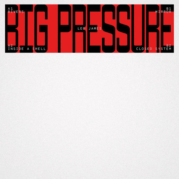Load image into Gallery viewer, Leo James ‎– Big Pressure