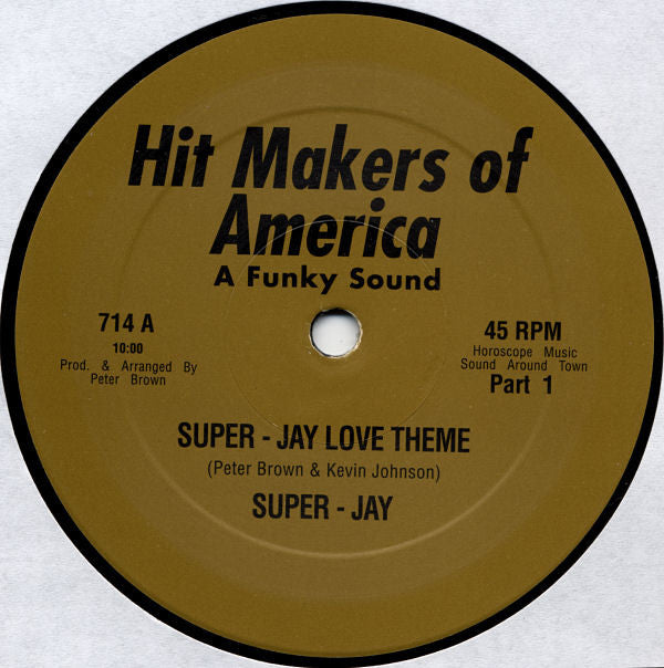 Super-Jay ‎– Super-Jay Love Theme