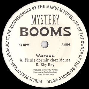 "Warzou ‎– J'Irais Dormir Chez Mouss / Big Boy (7"")"