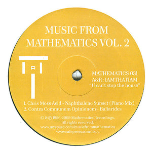 Various ‎– Music From Mathematics Vol. 2