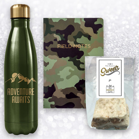 ADVENTURE AWAITS GIFT BOX