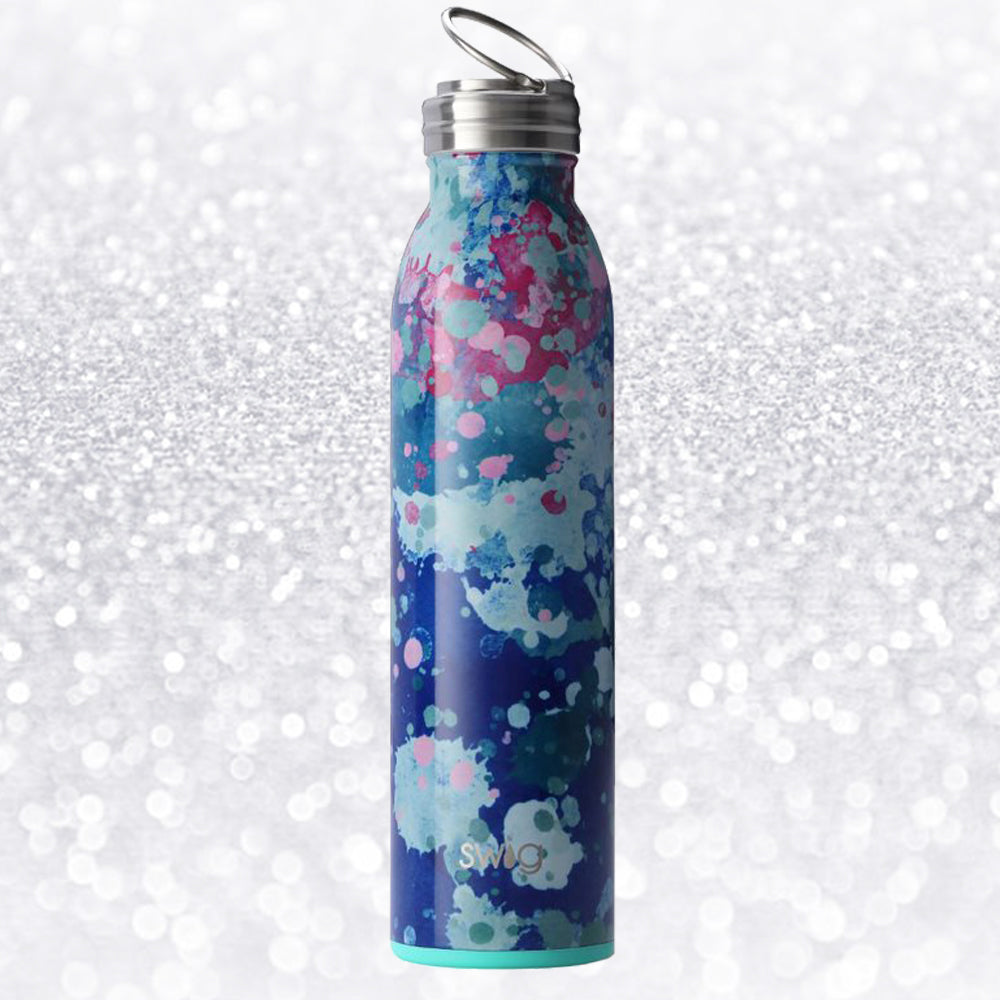 WATERCOLOR WATER BOTTLE