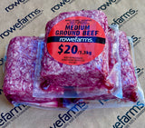 Grass Fed Beef - Medium Ground Beef Value Pack 3x1 lb (1,362 grams)