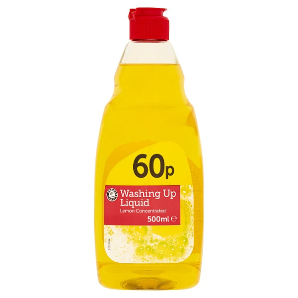 Euro Shopper Washing Up Liquid Concentrated 500ml