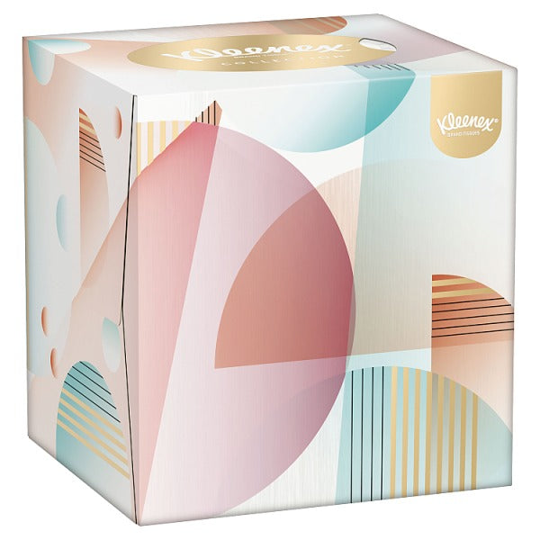 Kleenex® Collection Tissues Cube Single Box