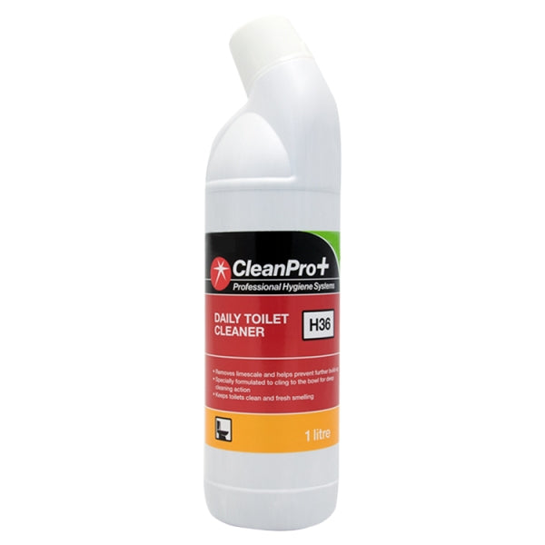 Clean Pro+ Daily Toilet Cleaner H36 1 Litre