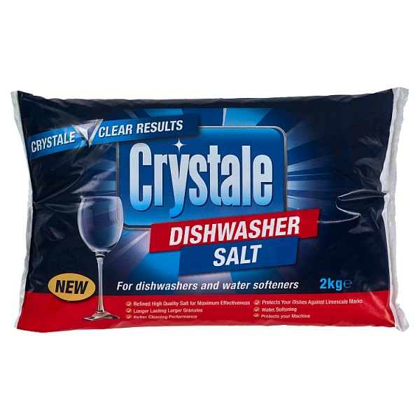 Crystale Dishwasher Salt 2kg