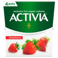 Activia Strawberry Yogurt