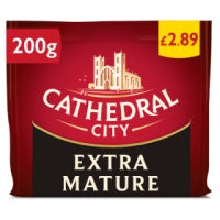 Cathedral City Extra Mature Cheese 200g