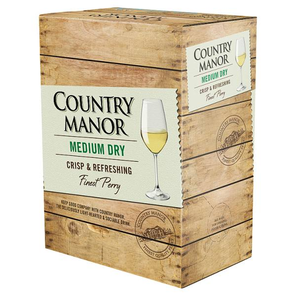 Country Manor Medium Dry Finest Perry 3 Litre