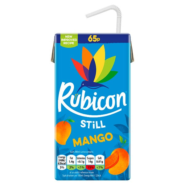 Rubicon Sparkling Passion Fruit Juice Drink 500ml