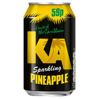KA Sparkling Pineapple 330ml Can