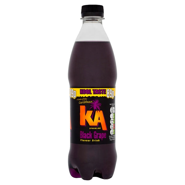 KA Sparkling Black Grape 500ml Bottle