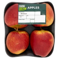 Farm Fresh Braeburn Apples -4 PK