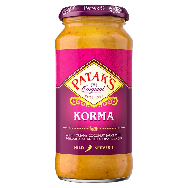 Patak's Korma Curry Sauce 450g